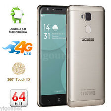 """DOOGEE Y6 5,5"""" Android 6,0 Dual SIM 4G Handy OCTACORE 16GB Smartphone TOUCH ID"""