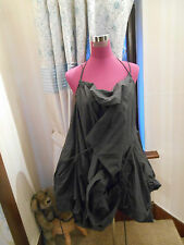Amazing All Saints Parachute Short Dress Grey  Size 12-14