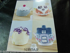 Sirdar Country Style DK Knit or Crochet Teacosy Pattern 7221 One Size