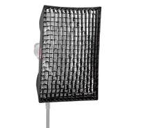 Jinbei EM 60 x 90cm Softbox mit Grid Wabenvorsatz für Bowens / Walimex Bajonett