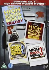 HIGH SCHOOL MUSICAL TRILOGY Complete 1 2 & 3 Movie Boxset BRAND NEW DVD