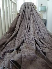 MASSIVE CURTAINS cotton silk FRENCH SHABBY CHATEAU chic acanthus DAMASK BLACKOUT