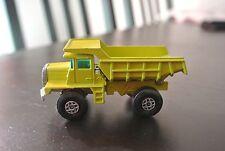 Matchbox Superfast Mack Dump Truck MB 28 - A 1970 England
