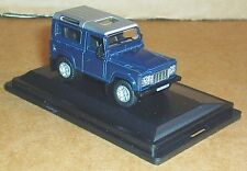 OXFORD DIECAST LAND ROVER DEFENDER 2013 TAMAR BLUE 1:76 SCALE MODEL CAR TOY