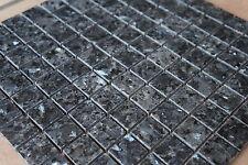 Granit Mosaik Matte Blue Pearl 30x30 cm 8 mm poliert Fliesen, NEU