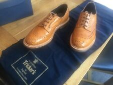 Trickers Bourton Brogues. Acorn size 10 in a 6 width