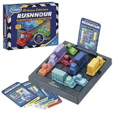 ThinkFun - Rush Hour DELUXE Edition - Traffic Jam Logic Game(Ages: 8+ to adult)