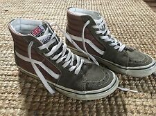 Vintage style nearly new 70s Retro Vans Women's Brown High tops Size 38
