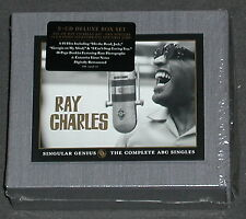 RAY CHARLES Singular Genius Complete ABC Singles 5-CD Box US-Import MINT RARE
