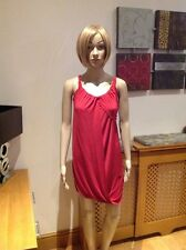 UNUSUAL FIRETRAP STRAPPY RED WRAP OVER TOP UK SIZE S BNWT