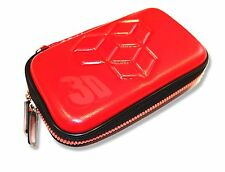 NINTENDO 3DS  DSi DS Lite FLAME RED AIRFORM CARRY CASE POUCH UK Seller