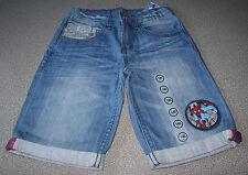 Jungen Jeansshorts SPIDERMAN GR.140 blau NEU mit Etikett