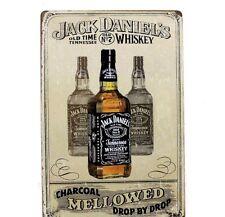 Jack Daniels Metal Vintage Tin Plaque Pub Decor Bar Sign Wall Poster Shop Retro