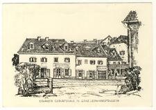ÖSTERREICH - FDC 958 KÜNSTLERKARTE mit GIRARDIs GEBURTSHAUS (8519/207)