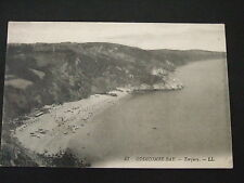 Postcard. Oddicombe Bay, Torquay. Posted in 1922 to Malvern Wells, Worcester.