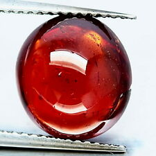 TOP SPESSARTINE : 7,05 Ct Natürlicher Orange Rot Spessartin / Spessartit Granat