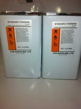 2x STANDARD  PAINT THINNERS CELULOSE/ GUN/PARTS CLEANER 5L