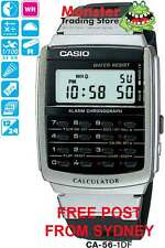 AUSSIE SELLER CASIO WATCH CALCULATOR CA56 CA-56-1 CA-53 CA53 12 MONTH WARRANTY