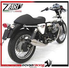 Anschlüsse di Auspuffanlage Racing Zard für Moto Guzzi V7 Café Racer/Klassisch