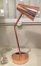 Industrial Urban Retro Copper Finish Metal Office Desk Table Lamp ADJUSTABLE NEW