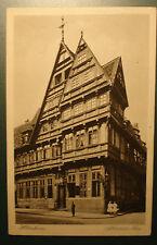 Alte Foto-AK / Ansichtskarte / PK/ ca. 1913: Hildesheim: Altdeutsches Haus