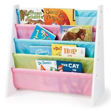 Childrens/Kids Wooden Bookcase Rack Storage Book-Shelf Tidy Bedroom/Playroom