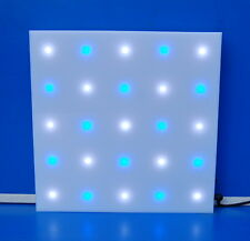 LED Wall Color Changed 250 x 250 x 23 mm, Lichtspiel, LED Wand, Lichtspiel