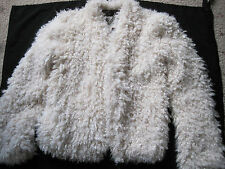 Billabong coat size Small. Lovely and soft! off White colour