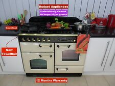 Rangemaster Classic110 Dual Fuel Range Cooker Professionally Cleaned Ref :R23
