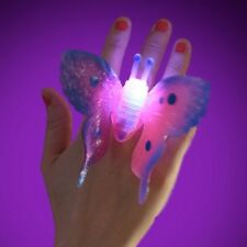 SPARKLY & FLASHING BUTTERFLY RING PRINCESS TOY GIRLS CHRISTMAS STOCKING FILLER