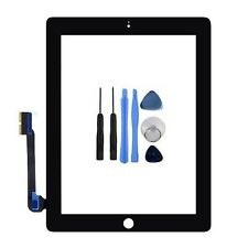 New Black Touch Screen Digitizer Replacement Front Glass Display For iPad 3 UK