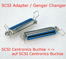 SCSI GENDER CHANGER ADAPTER CENTRONICS BUCHSE FEMALE   SCSI 50-POL 50-PIN BUCHSE