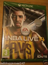 NBA LIVE 14 2014 (XBOX ONE) BRAND NEW & FACTORY SEALED
