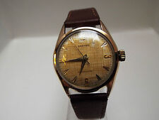 Gents Vintage Rose Gold Plated Croton Antarctic Wrist Watch
