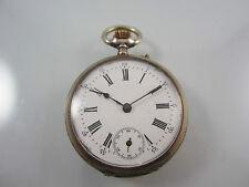 Alte offene Taschenuhr aus Silber