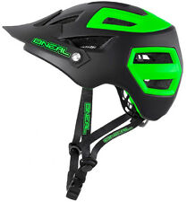 O'Neal Pike Enduro Mountain Bike MTB Helmet 55-58cms Small / Medium Green Black