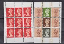 two pages from the booklet,MNH    f417