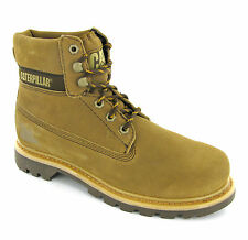 New Mens CAT Caterpillar Colorado Mud Sand Suede Leather Ankle Boots Size 6