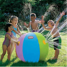 Kids Summer Outdoor Swimming Beach Inflatable Ball Water Fountain