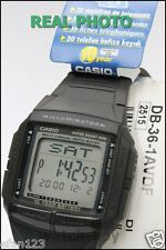 DB-36-1A Genuine Original Casio Watch Black 5 Multi-Fuction