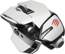 Mad Catz M.O.U.S. 9 White Wireless Gaming Mouse for PC, Mac and Mobile Devices