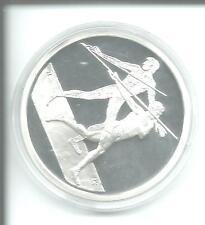 Münze Griechenland 2004 Olympiade 10 Euro SPEERWERFEN 34 g Silber PP