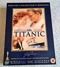 Titanic (DVD, 2005, 4-Disc Set) - Deluxe Collector's Edition