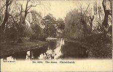 CHRISTCHURCH New Zealand Neuseeland AK um 1900/10 AVON Fluss River Scene