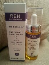 New Ren Bio Retinoid Anti-Wrinkle/Ageing Concentrate Oil Vitamin A E Omega 6 7