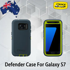 NEW OtterBox Defender Heavy Duty Case Cover For Samsung Galaxy S7 blue/green