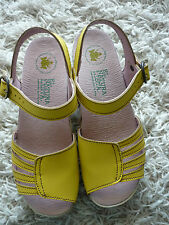 EL NATURALISTA*schöne Leder Riemchen Sandalen Sandaletten 37 GELB