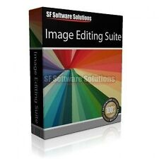 PROFESSIONAL IMAGE EDITING SUITE SOFTWARE CD. REMOVE PHOTO BACKGROUNDS & MORE