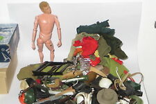 vintage 1964 Habro Palitoy Action Man GI Joe lot figure doll clothes weapons