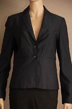 Suits You by JACQUI-E Size 12 Blue Patterned Tailored Blazer, JACKET *Near New*